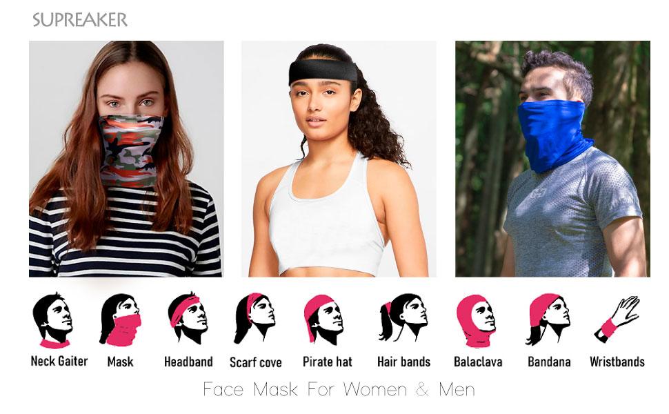 Face Mask For Women & Men
