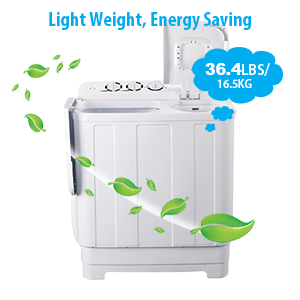 Frifer Portable Twin Tub Washing Machine