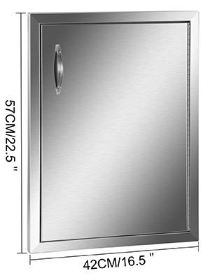 outdoor kitchen door