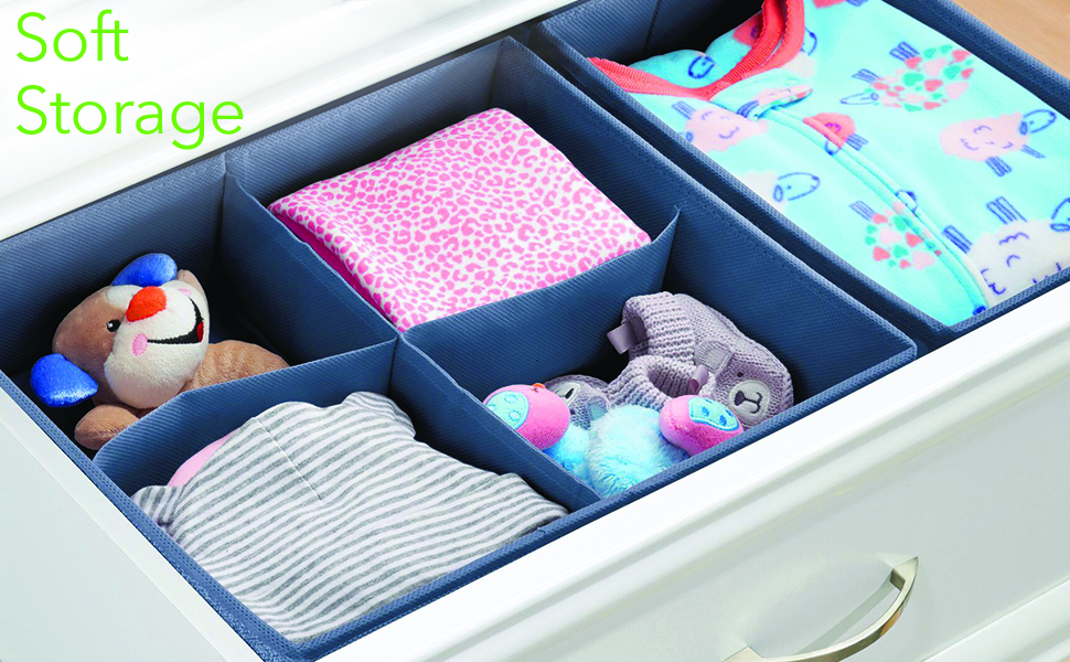 divided section compartment set pack arrange separate soft storage