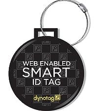 Dynotag SuperTagID IDtag luggageTag keychainTag recoveryTag return lost&found