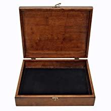 opened treasure box