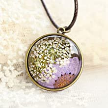 resin arts with pressed flowers