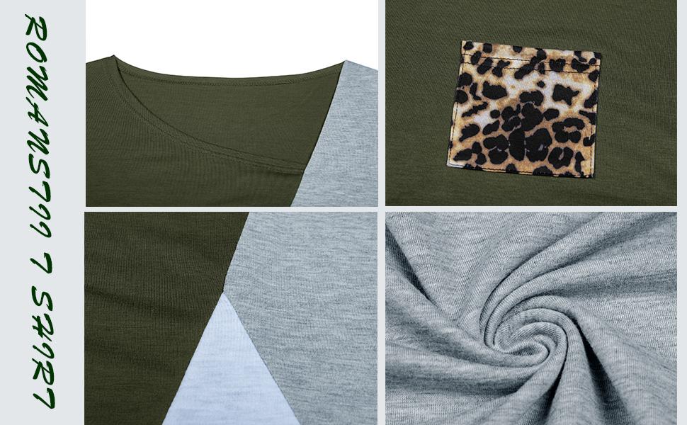 Women's Leopard Tee Shirts