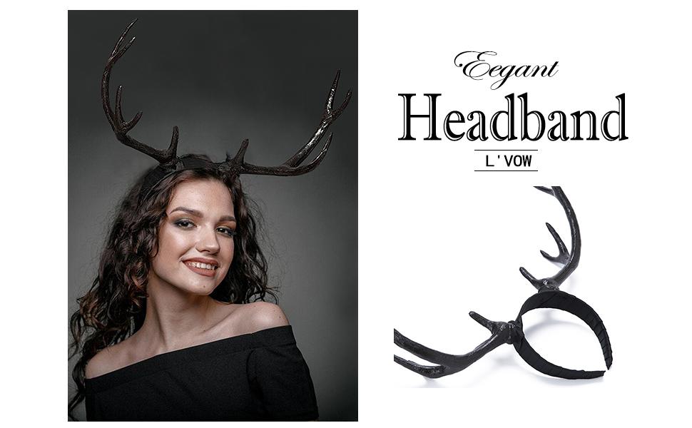 Reindeer Antler Hair headwear