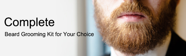 Beard grooming kit for men gifts