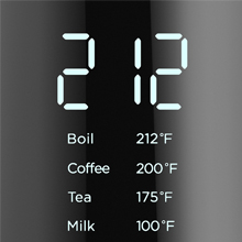electric hot water tea kettle with variable temperature control keep warm double wall fast boil