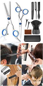 Hair Cutting Scissors Set 10PCS