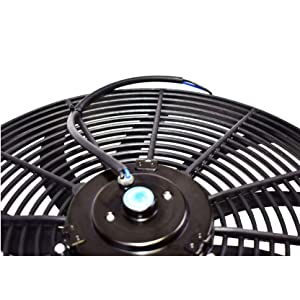 van,12V electric Push Pull Electric Radiator cooling fans assembly set
