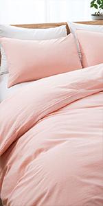 Pink Duvet Cover Set