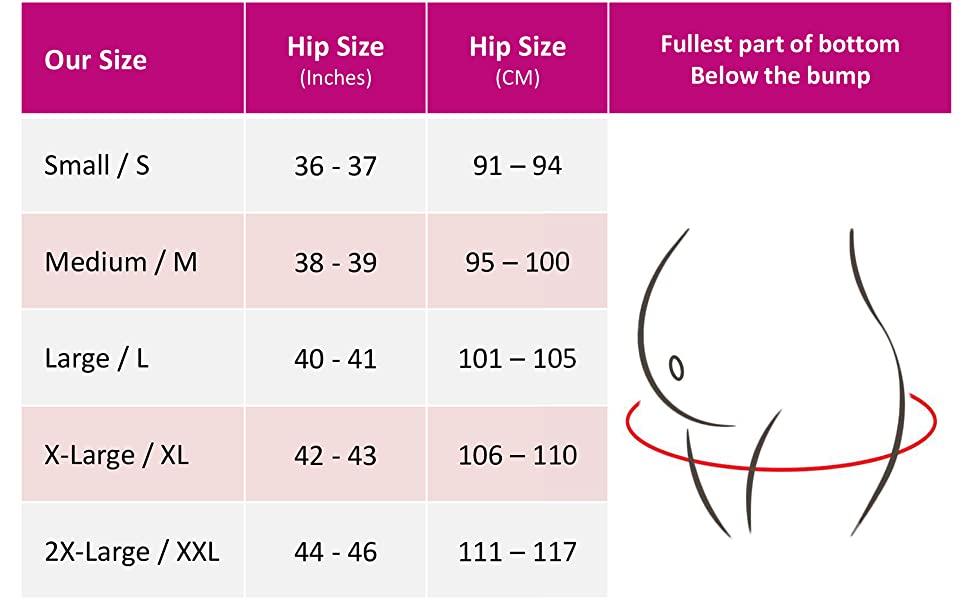 Intimate Portal Maternity Underwear Size Chart