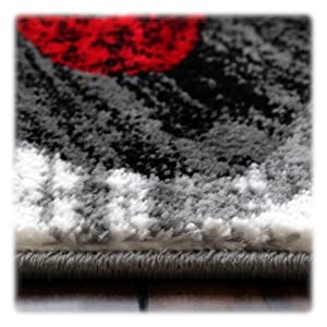 masada rugs stephanie collection 1107 grey red turquoise