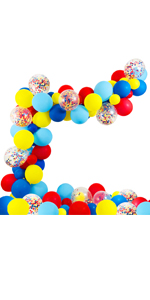 Circus Party Supplies Balloons Arch Kit