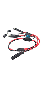 3FT 10AWG SAE to SAE Extension Cable