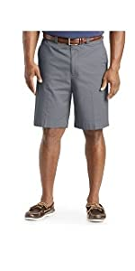 Oak Hill by DXL Big and Tall Comfort Stretch Chino Shorts