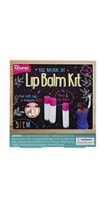 DIY lip balm making kit for kids, make your own lip balms