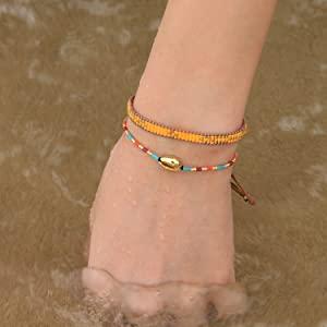 wrap bracelet friendship bracelets woven bracelet handmade braided bracelet beach bracelet women