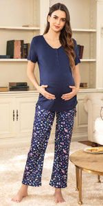 maternity pajamas