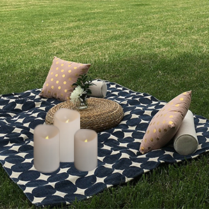 Outdoor flameless candles