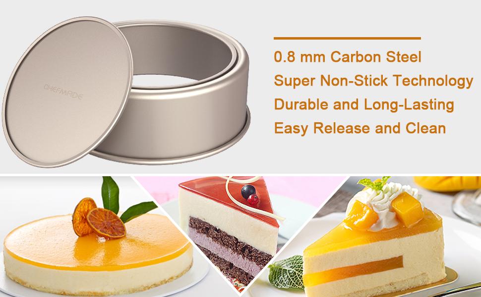 Round cake pan