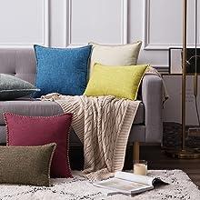 farmhouse pillow covers accent decor