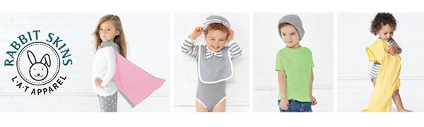 Rabbit Skins baby clothes vintage stripes dots multi-color
