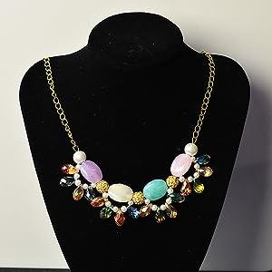Mixed Flat Round Imitation Gemstone Acrylic Beads for Jewelry Making
