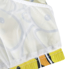 breathable mesh lining