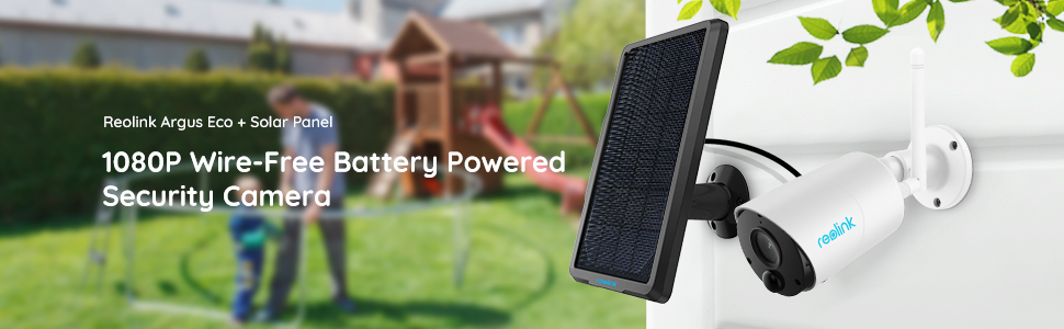 wifi battery solar powered eco with solar panel