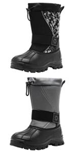Mens Winter Waterproof Snow Boots