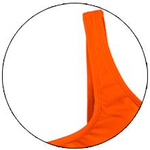 low scoop crop top swim suits