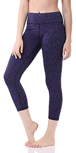 GP-07 Basic Capri Leggings 3/4