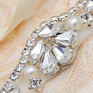 silver bridal belt