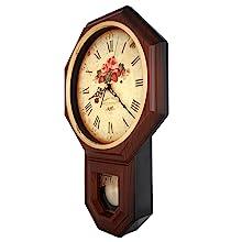 Rose Pendulum Wall Clock
