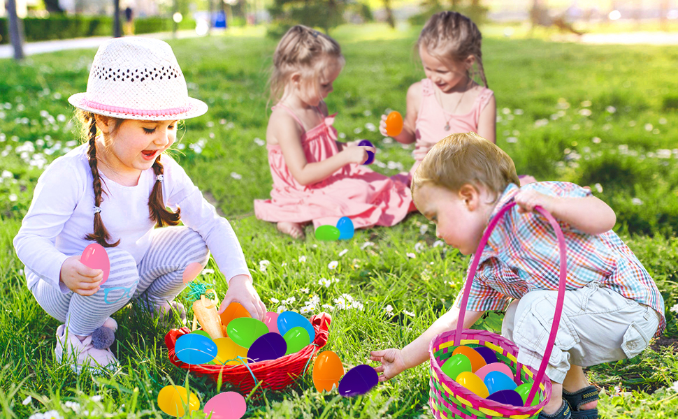 easter eggs hunting
