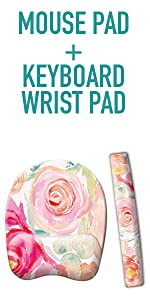 Desk organizers desktop French koko office cute pen holder accessories mousepad mouse keyboard gifts