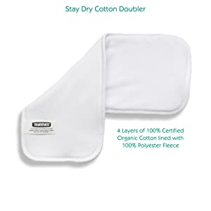 Organic and Stay Dry Organic Cotton Doublers