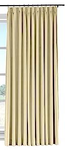 velvet pinch pleat curtain