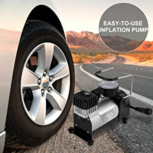 Easy-to-use Inflation pump