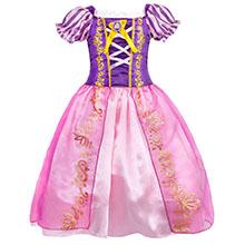 little girls dresses ruffle HG018-1