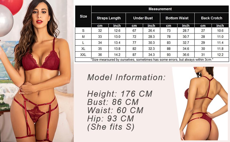 bra garter lingerie set for women