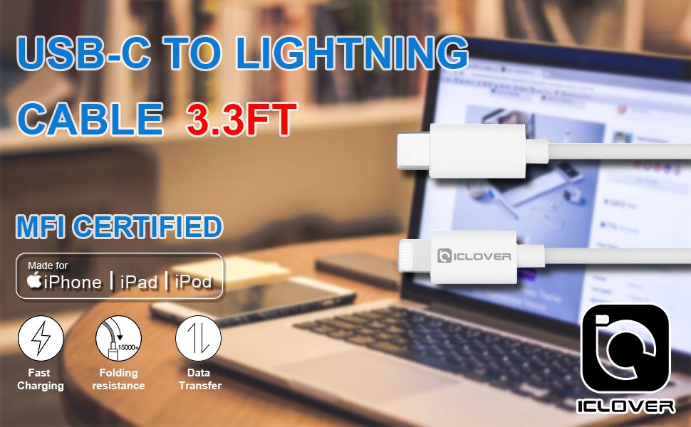 USB-C lighting cable