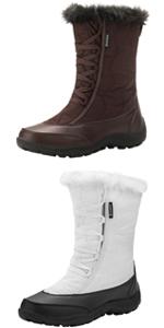 Waterproof Fur Winter Snow Boots for Women
