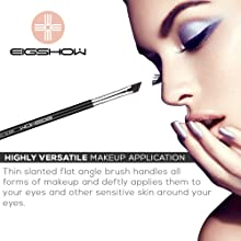 Professional Gel Brushes - Premium Quality Flat Eyeliner Brush at an Economical Use for Fine