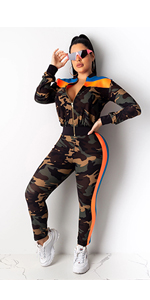 camo tracksuit for women