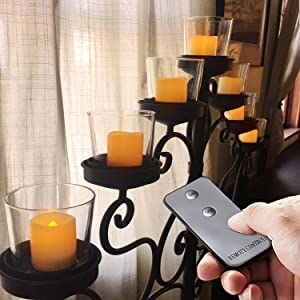 votive candles with remote and timer