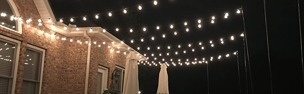 g40 bulbs outdoor string lights