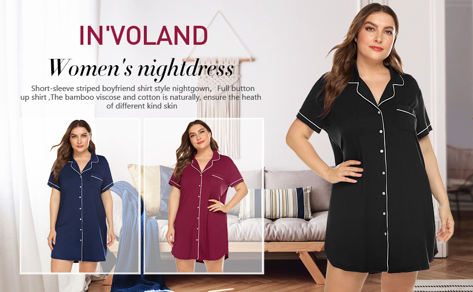plus size nightshirt