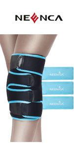 NEENCA Knee Ice Pack Wrap