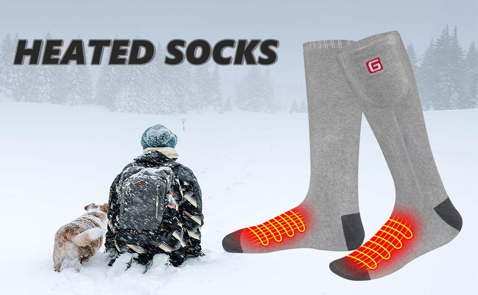 heated socks qilove